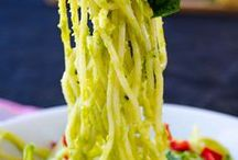 Clean eating Recopes / Avocado pasta