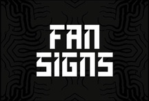 Fan Signs / Fans submitting their concert signs using #NDSIGN.