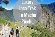 Luxury Inca Trek to Machu Picchu / This exclusive VIP trekking service follows the traditional Inca Trail route to Machu Picchu but with the aid of private chef preparing gourmet meals, premium camping equipment and personal bathroom facilities.