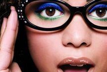 Makeup 'n' glasses