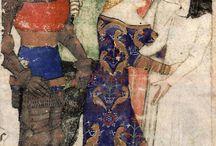 MS - Queste del Saint Graal [1380-85] / BNF Français 343