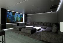 Tv beamer kamer
