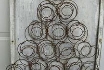 stromček kovový art