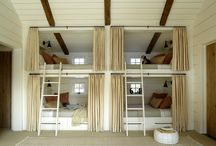 Bunk Design / Spunky and clever bunk room designs