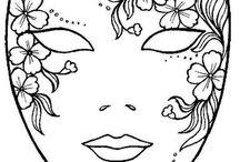 Mascaras Venecianas