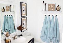 Home-Bathrooms / by Tacey Burnham