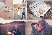 Camping\Outdoors engagement photos
