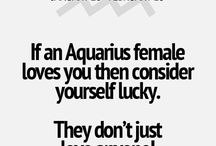 Aquarius ♒️ / by Katelyn Stewart