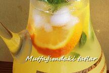 Osmanlı limonatası ve içecekler