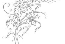 Vintage Embroidery Designs / Designs for embroidery.