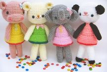 CRO/KNIT.  Children Toys / by Miriam cordero