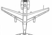 Junkers JU-287 - drawing