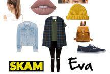 eva skam outfit