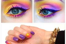 make up the look