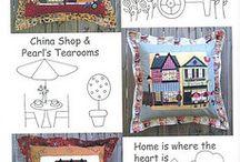 embroidery, cross stich, aplique, quilt