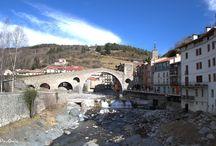 Puente Nuevo de Camprodón. Girona / Photo Travel History Art Architecture Fotografía Viajes Historia Arte Arquitectura