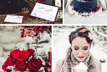 Ponderosa Ranch Winter Wedding ideas / Ponderosa Ranch Winter Wedding ideas
