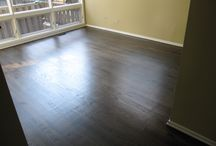 Hardwood Floor Refinishes and Installations / Showcases our love for hardwood flooring.