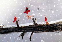 Grand kids  / Jack's Snowy Birds