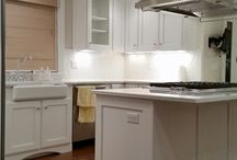 Cabinet Painting / Cabinets painted by Mod Paint Works in Denver, CO