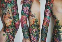 Tattoo Flower Realistic