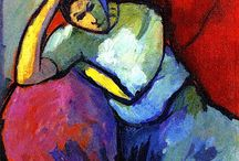 Jawlensky Alexej von / Storia dell'Arte Pittura  19°-20° sec. Alexej von Jawlensky  1864-1941