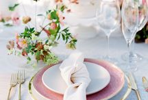 Wedding tablesetting