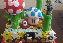 Torta Mario Y Luigi