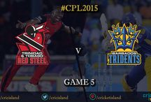 CPL 2015 / Caribbean Premier League, 2015 edition is a T20 format cricket league featuring great players from different parts of the world. 6 teams compete each other during the tournament to lift the trophy on the final day.