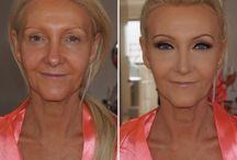 make up befor after