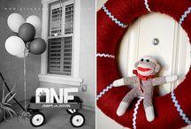 My little man's birthday ideas / by Amie