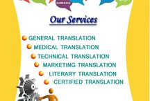services /  We have a network of professional translators, interpreters and editors to provide expert solutions to each client's linguistic requirements.We specialise in translating documentation, computer software, websites, publications for press and web, materials for engineering and telecommunications.