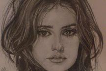 Portreti poznatih Ličnosti / Crteži poznatih