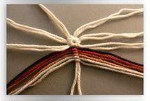 tkaní z provázků