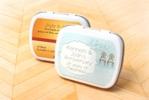 Anniversary Favors / Remember the yesterdays, plan your tomorrows, and celebrate your today!