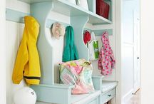 mudroom decor / by Missy Wright