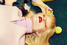 Editorial photography / Some of my favourite editorial fashion photography, including edgy fashion and retro, stylised images with lots of great use of colour.