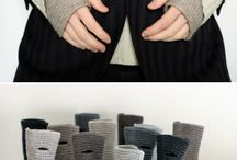 Fingerless gloves / Displays