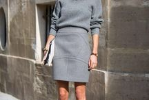 grey winter outfit