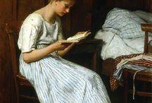 La lettura nell'arte