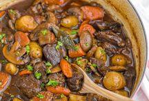 Stew / sammenkogte retter
