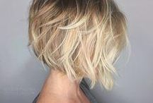 Bobbed hair style