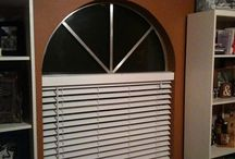 Arched Wood Shutters / The San Antonio Company is the USA's leading resource for stunning high quality Arched Wood Shutters, and wooden blinds for interior windows.