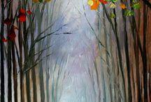 tableau forêts