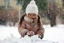 Winter White Photo Session / Winter Photography Session Ideas
