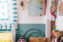 Boho kids bedrooms/chambres enfants bohèmes