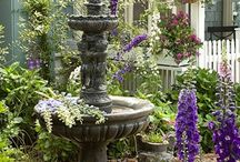 In the Garden / Inspiration for the garden, plants, structures, design and decorations.  / by Linda Saunders