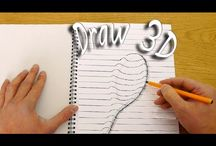 HOW DRAW IN 3D