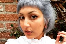 The Grey Looks / Toners of grey over blonde to give a cooler tone