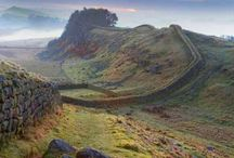 Walking Hadrian's Wall 2015 / I really want to go on a long walk this summer and am thinking up ideas. I would love to walk the full length of Hadrian's Wall so I'm going to collect some ideas and information about the challenge to help me plan!!